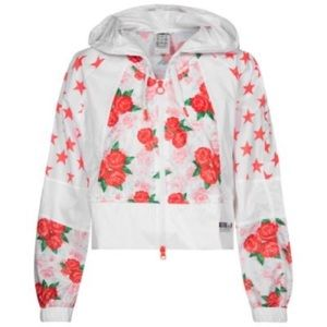 Adidas | StellaSport Floral Stars Jacket Hoodie M